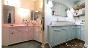 Master Bathroom Reveal