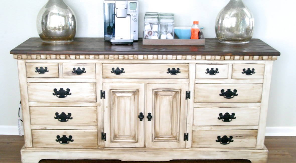 Coffee Bar Dresser